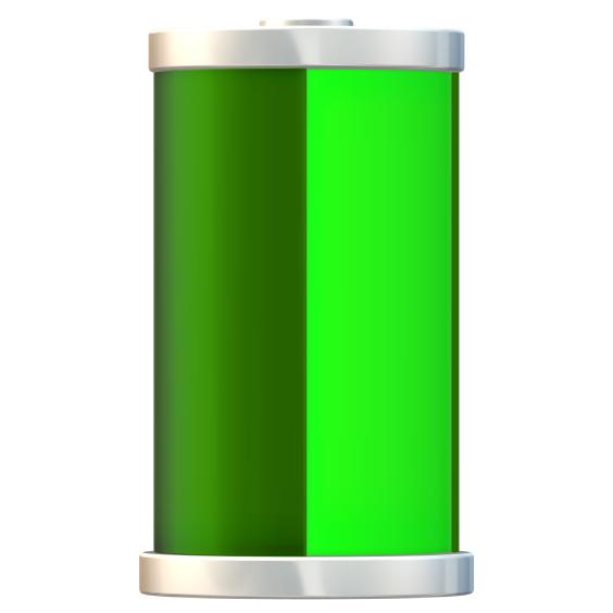 Sanyo NCR18650GA Li-ion batteri 3,4Ah (uten sikkerhetskrets)